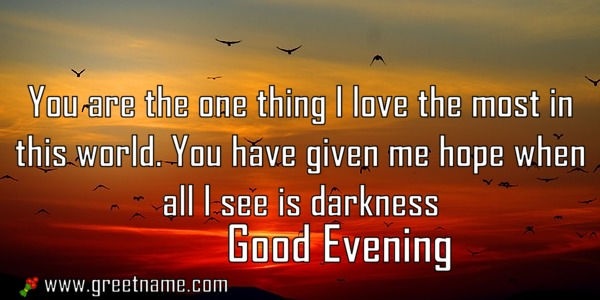Good evening messages darkness and hope for friends greet name alternatively you can download this picture m4hsunfo
