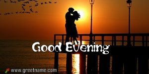 Wimagesgood Evening Kissing Couple Picture.jpg