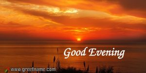 Wimagesgood Evening Sunset Sea Red Images.jpg