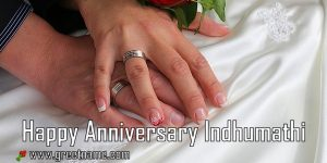 Happy Anniversary Indhumathi Touching Hands