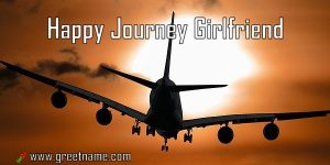 Happy Journey Girlfriend Aircraft Flying
