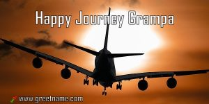 Happy Journey Grampa Aircraft Flying