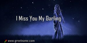I Miss You My Darling Women Standing