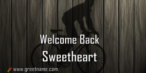 Welcome Back Sweetheart Men Cycling