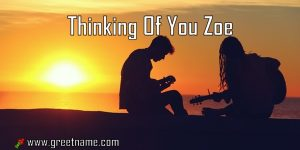 Thinking Of You Zoe Couple Playing Music