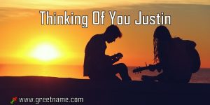 Thinking Of You Justin Couple Playing Music