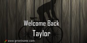 Welcome Back Taylor Men Cycling