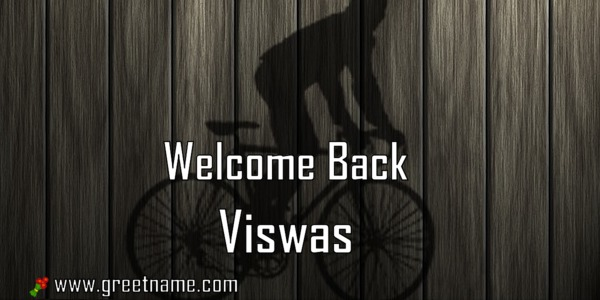 Welcome Back Viswas Men Cycling